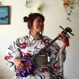 Japanese model and music