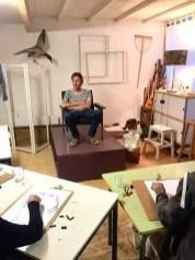 Model tekenen drawing Frank