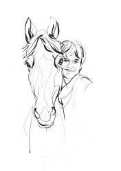 Mees & Mocus | portrait commission | digital drawing