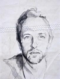 Chris Martin|Acrylic on sailcloth | 50x70 cm