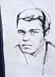 Mohammed Ali|Acrylic on sailcloth | 50x70 cm