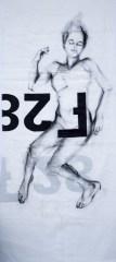 Woman Model Sail 02 | Acrylic/charcoal on sailcloth | 90x200 cm