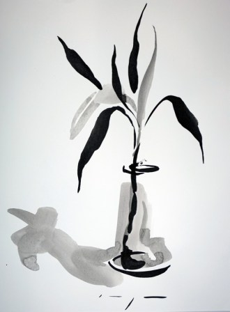 Dutch Art China | Lucky Bamboo 02|Ink on paper | A3