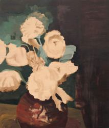 Wooden Flowers | Acrylic on wooden panel | 100x125 (?) cm