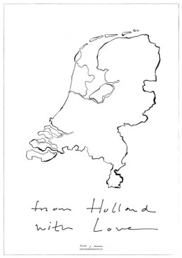 From Holland with Love | digital drawing | prints available