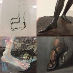 museum feet