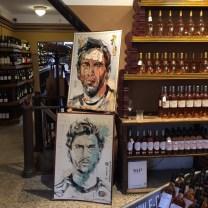 Wine & Art & a touch of football| Lionel Messi, Fernando Llorente