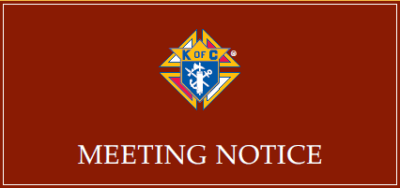 MEETING NOTICE – Council 3956 Business Meeting on Wednesday, June 7th at 7PM, plus LOTS of other events this month
