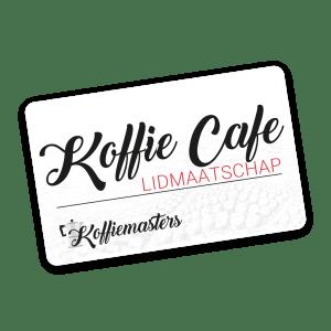Koffiemasters Koffie Café lidmaatschap