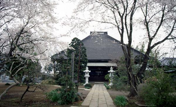 永井寺(えいせいじ)参道から