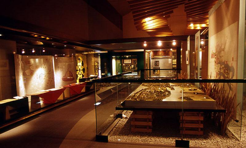 古河歴史博物館館内