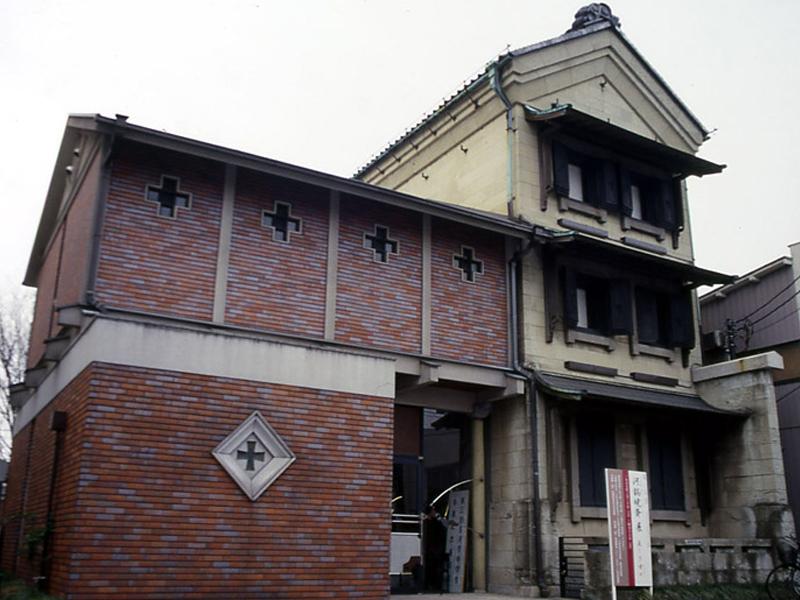 古河篆刻美術館外観
