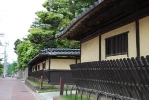 杉並通り旧武家屋敷外観(塀)