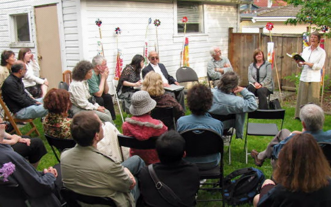Final Kogawa House event for writer-in-residence John Asfour