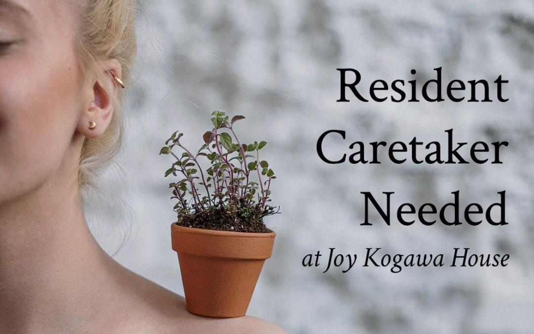 Resident Caretaker Needed
