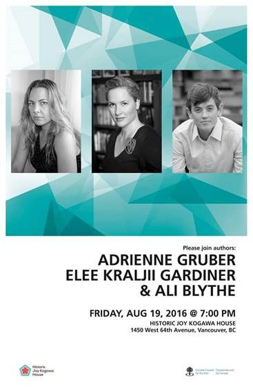 Adrienne Gruber, Elee Kraljii Gardiner & Ali Blythe