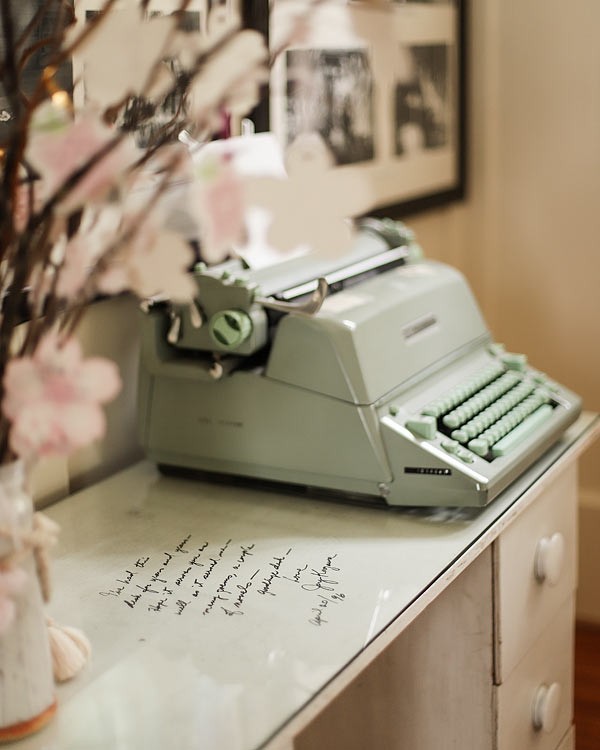 Joy Kogawa's desk at the Kogawa House