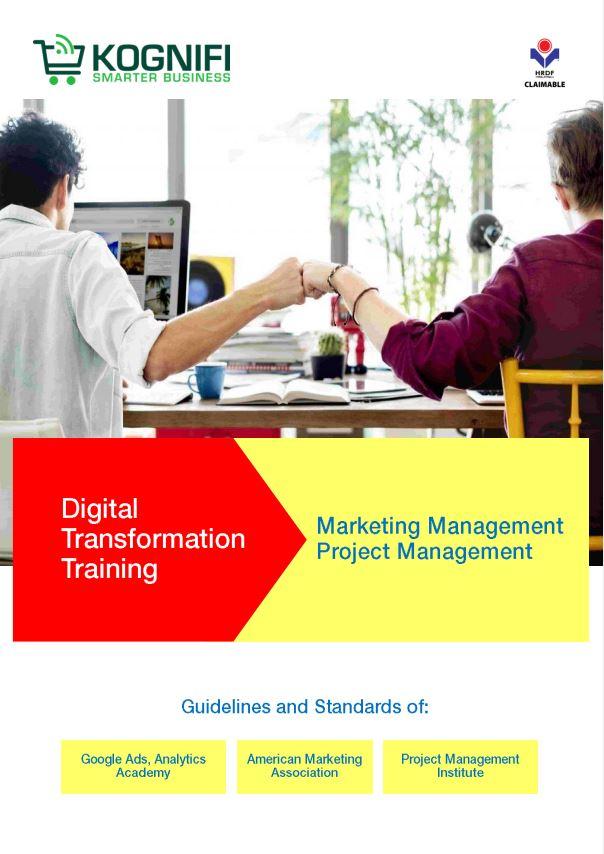 Kognifi Digital Skills Training Catalogue for Digital Transformation and Digitalization