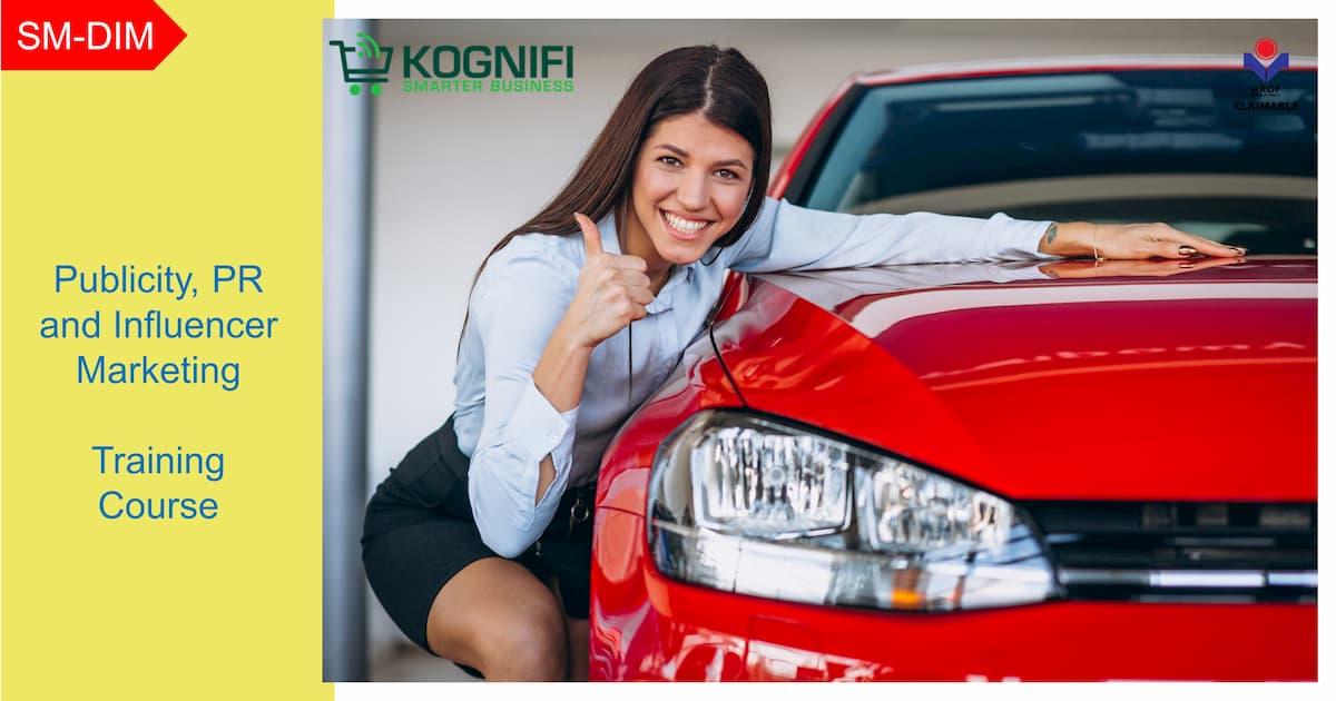 Kursus publisiti, PR dan Influencer Marketing KWPSM yang dituntut Kognifi