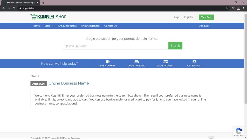 Kognifi Malaysia Domains Checker Portal