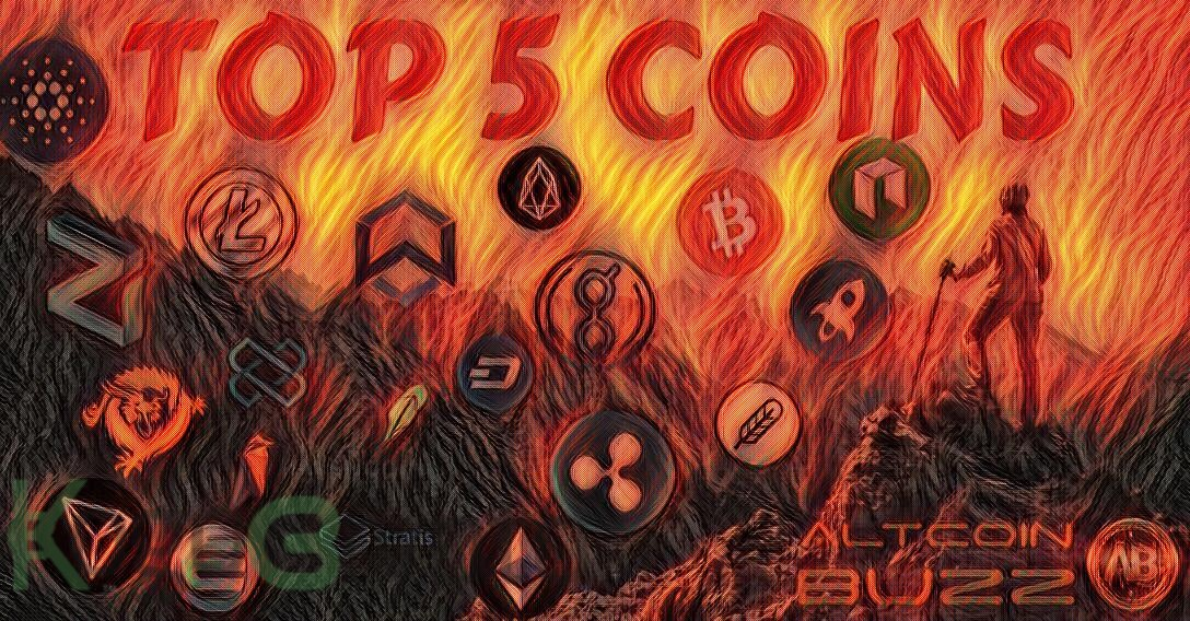 Top 5 Altcoin Tipped  for Imminent Biggest Ever  Bull Run By Crypto Analysts