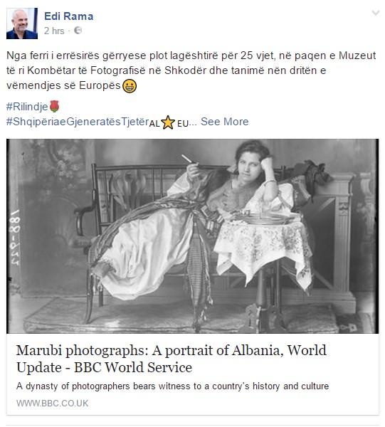 BBC shpërndan foton e Marubit, Rama: Muzeu i ri nën dritën e Evropës