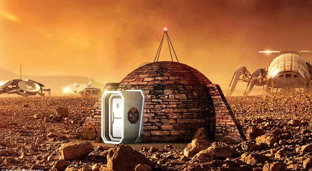 Kështu do të duket shtëpia e parë e njeriut në Mars