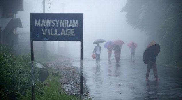 Në cilin vend të botës bie më shumë shi?