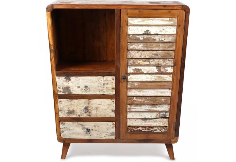 meuble d entree amba en bois recycle