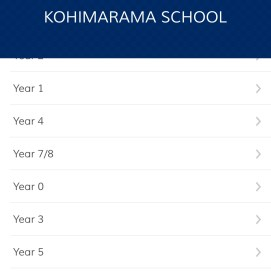 Select the Year your child is in and add their class/es
