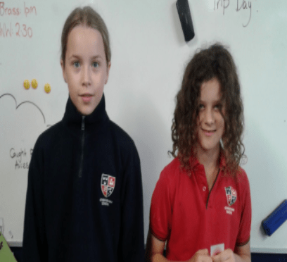 Year 5 Team: Inset- Mikayla E and Lotte A.