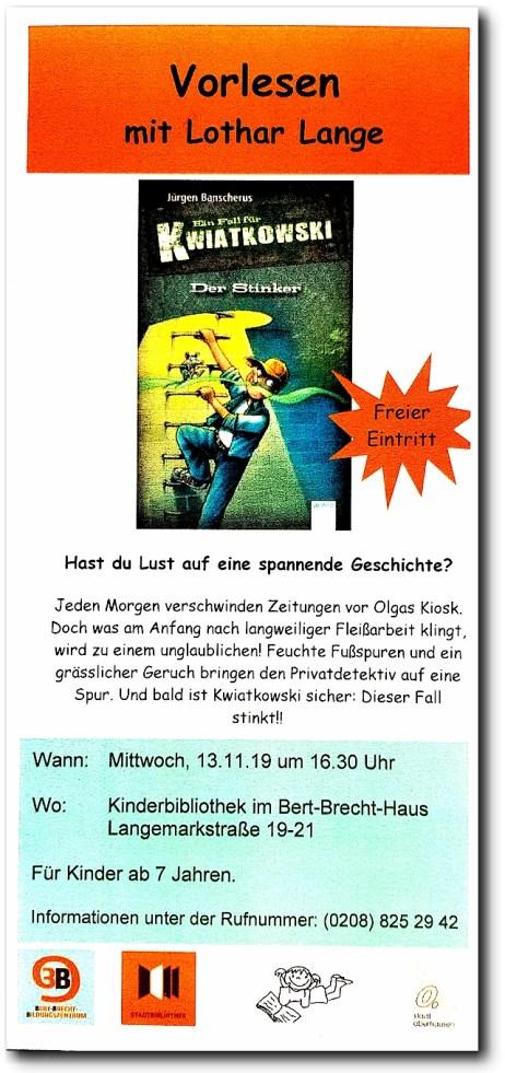 Lo Lange Plakat Stinker