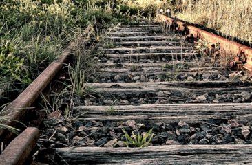 Schienen alt