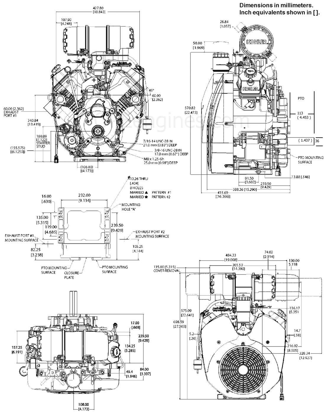 Ch940 Ch960 Ch980 Ch Drawings