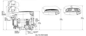 Kohler Engine ZT7203017 21 hp Confidant 725cc  OPEengines