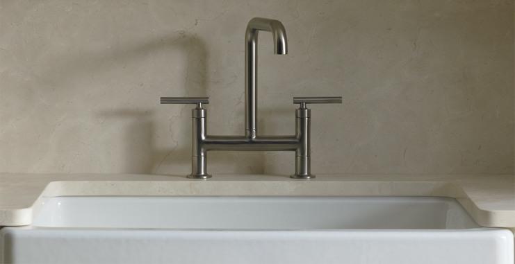 purist bridge kitchen faucets kohler