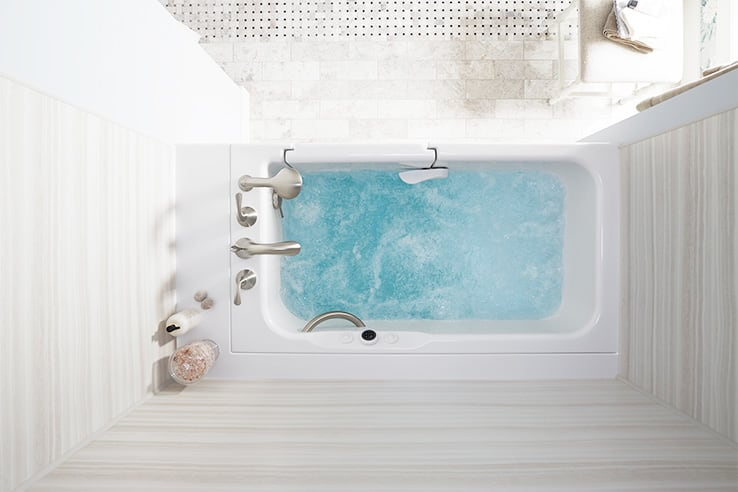 How To Clean Your Walk In Bath With Ease Kohler Walk In Bath Blog