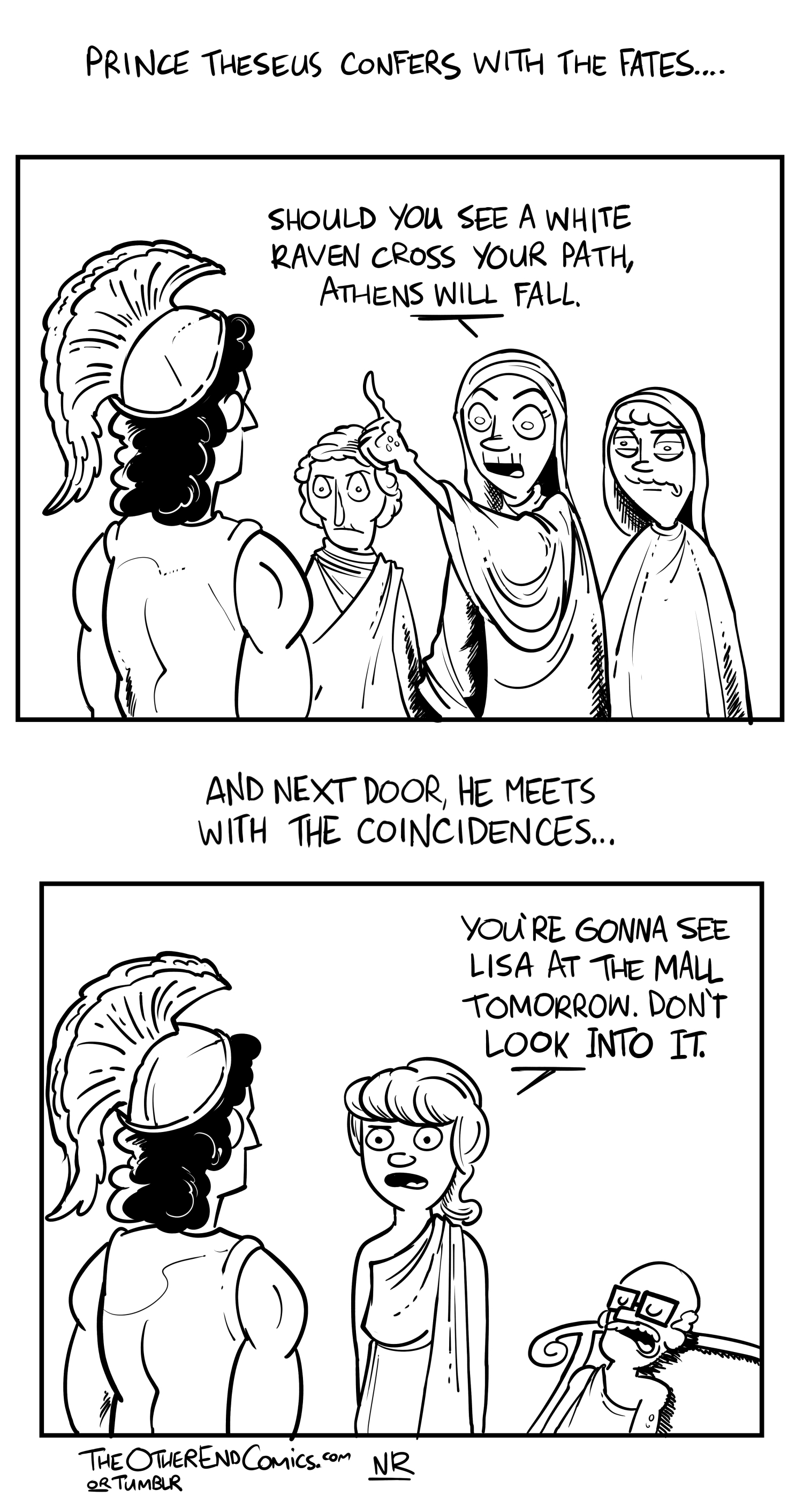 Lisa isn't even an ancient Greek name. This comic is so fake.