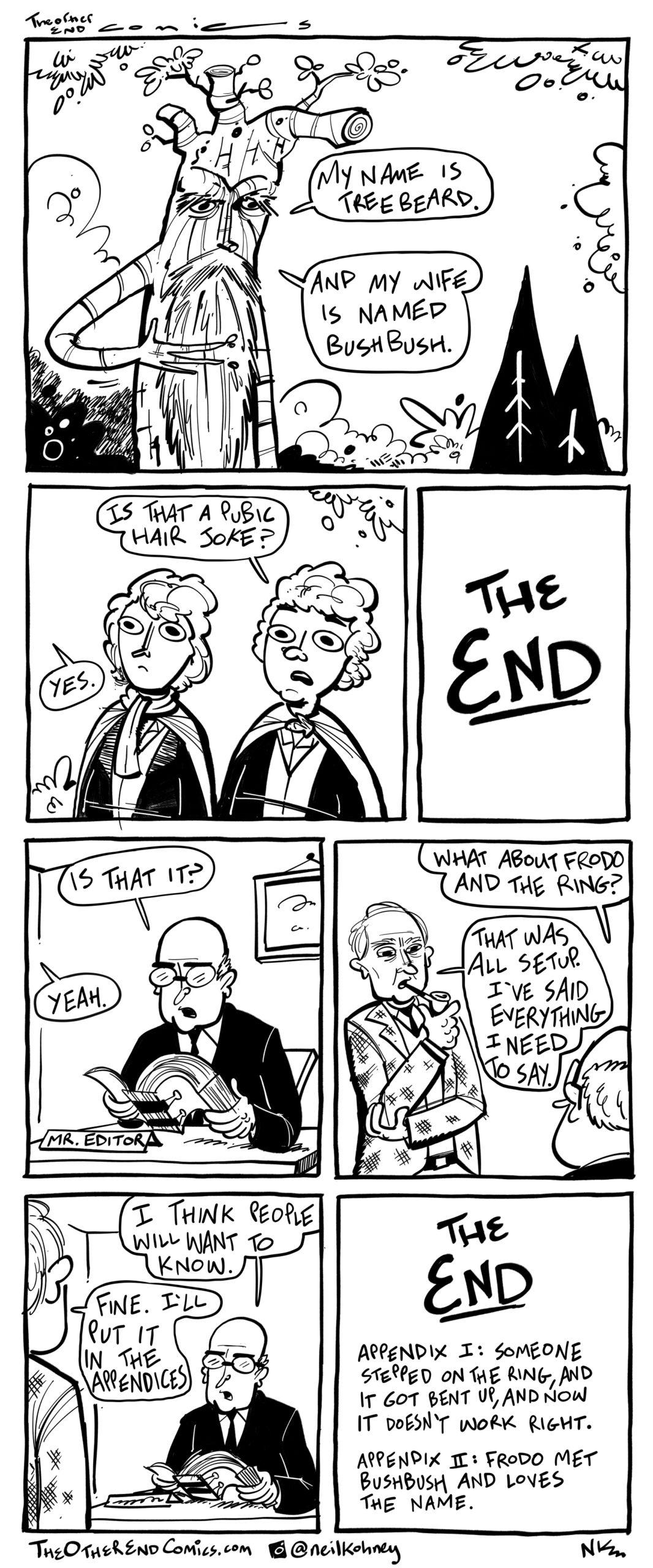 Fun fact: JRR Tolkien's full name is Junior Randy Tolkien