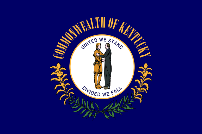 The Flag of the Commonwealth of Kentucky