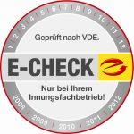 Wartung und E-Check