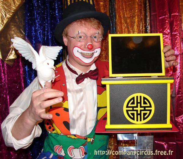 Clown Magicien Sacha Touille La Valentine 13011