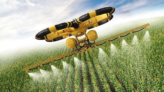 Droni per agricoltura il futuro dei campi è tecnologico