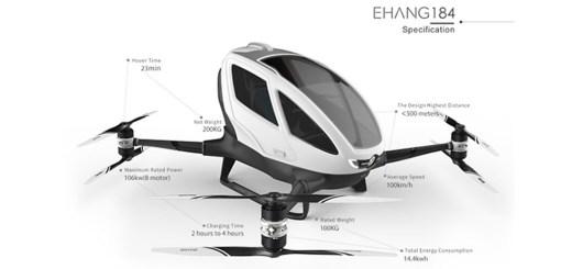 drone per trasporto umano
