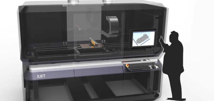 XJet stampante 3D in metallo