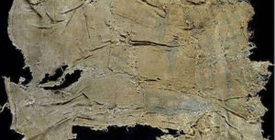 Tela indaco ha 6000 anni e viene dal Perù