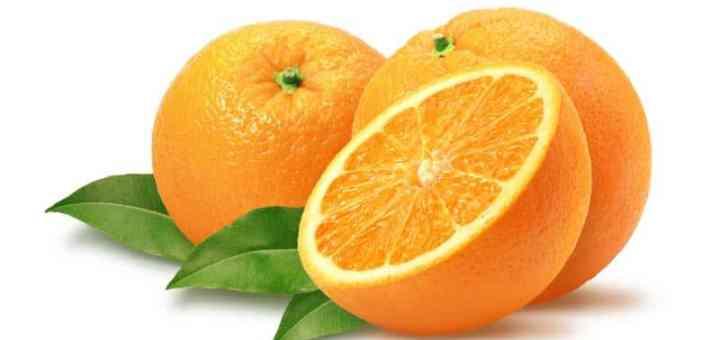 arancia o una pillola di vitamina C