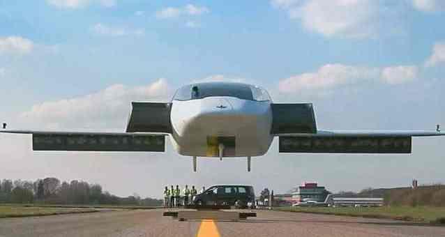 Auto volante taxi volante Lilium Jet Car