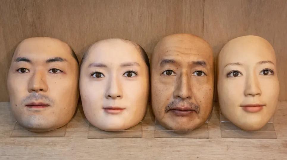maschere realistiche stampate 3D 4