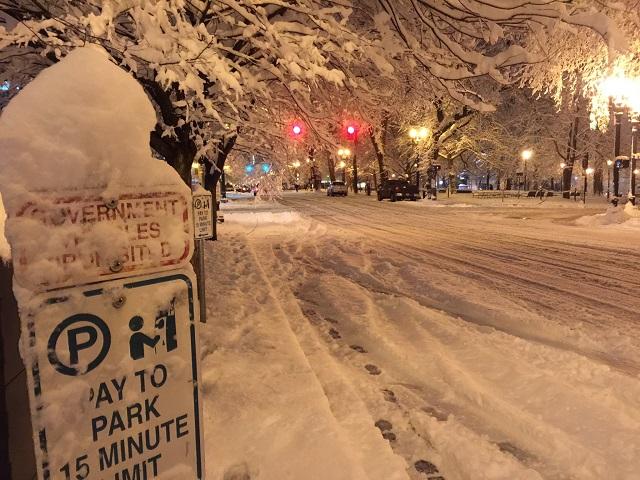 downtown portland snow_391638